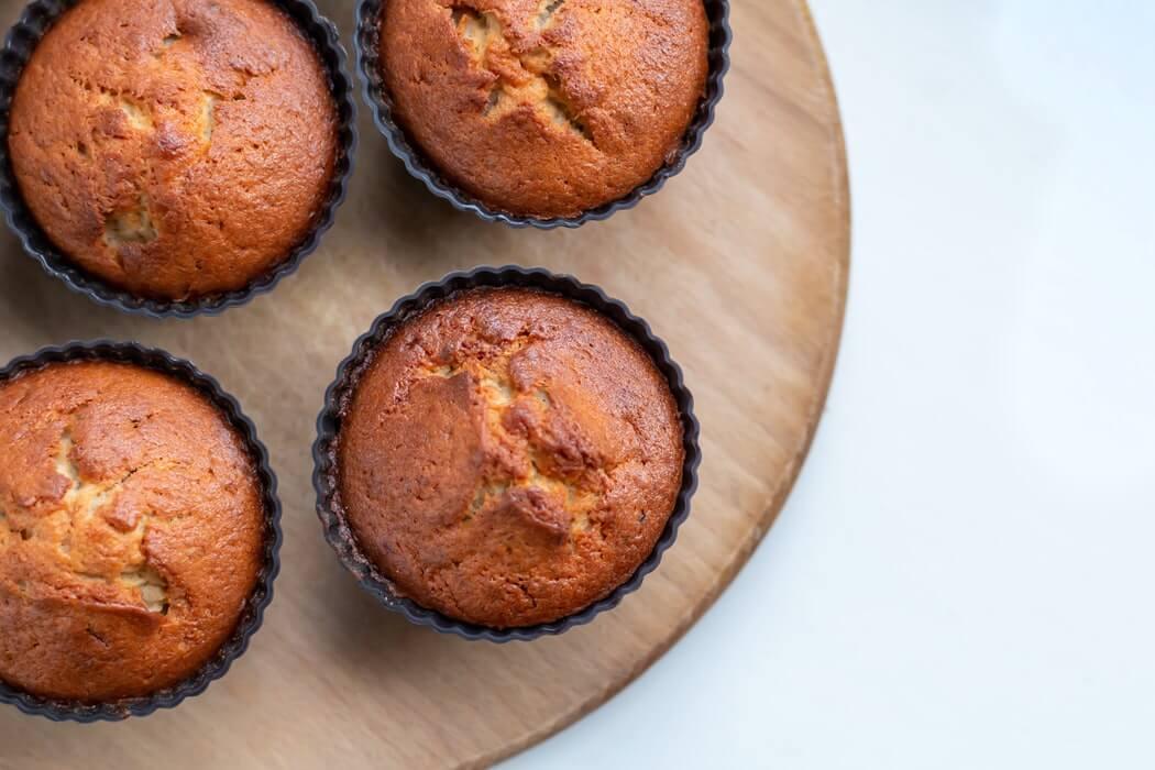Zöldséges muffin