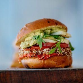 Vegetáriánus hamburger
