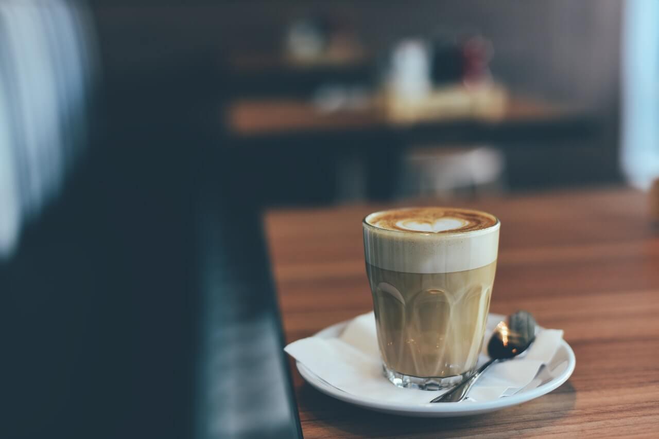 Perníčkové cappuccino