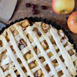 Rețeta de tartă cu mere
