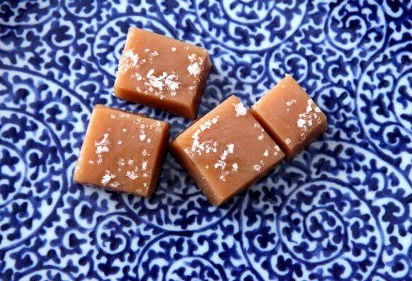 Zdravé karamelky z mandľového masla