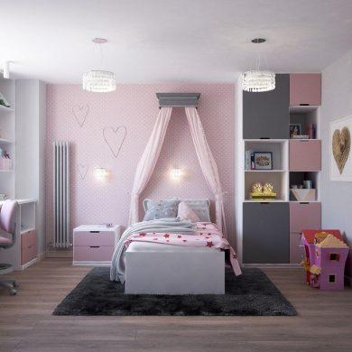 Ako z malej detskej izby vyťažiť maximum?