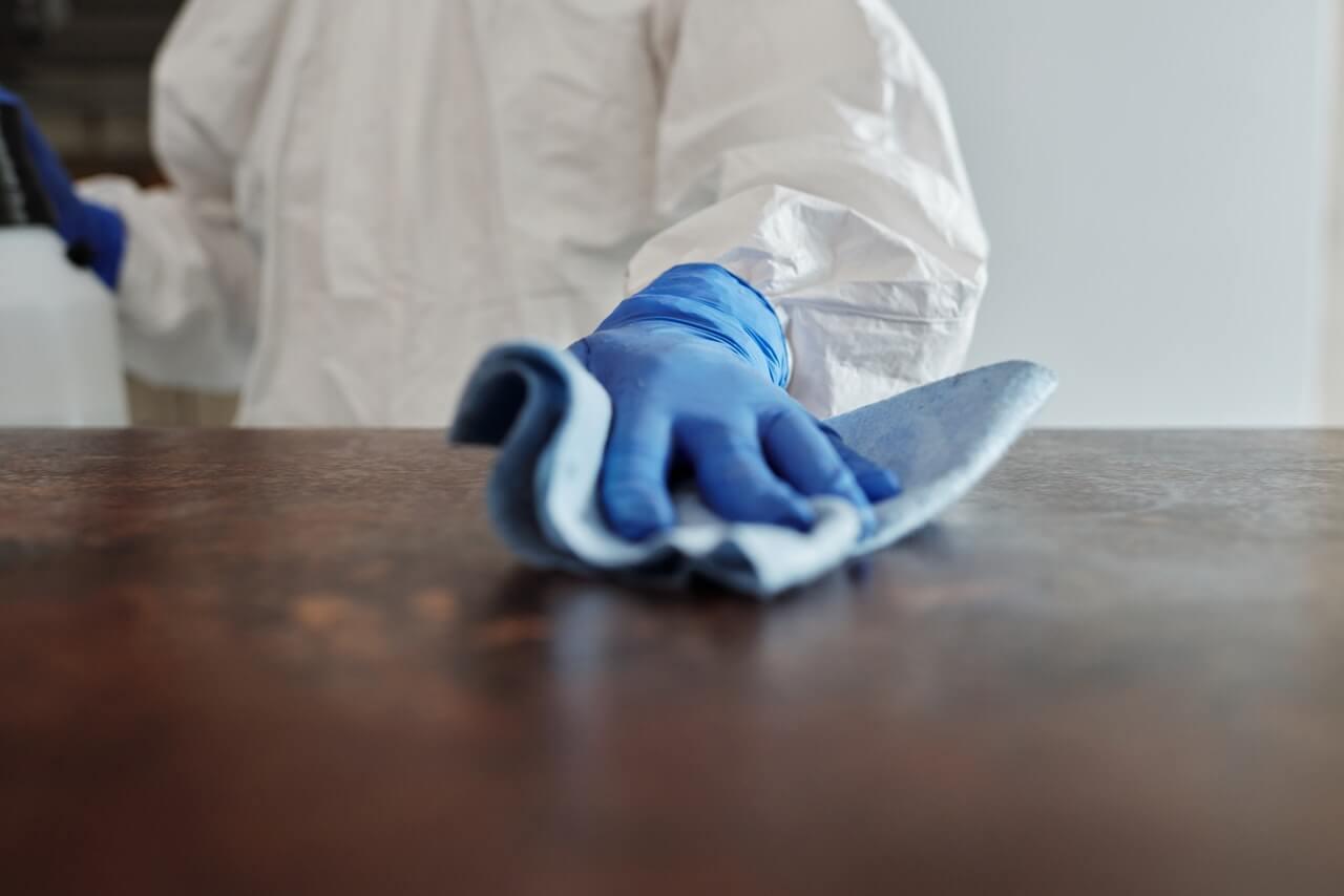 Častejšia dezinfekcia povrchov
