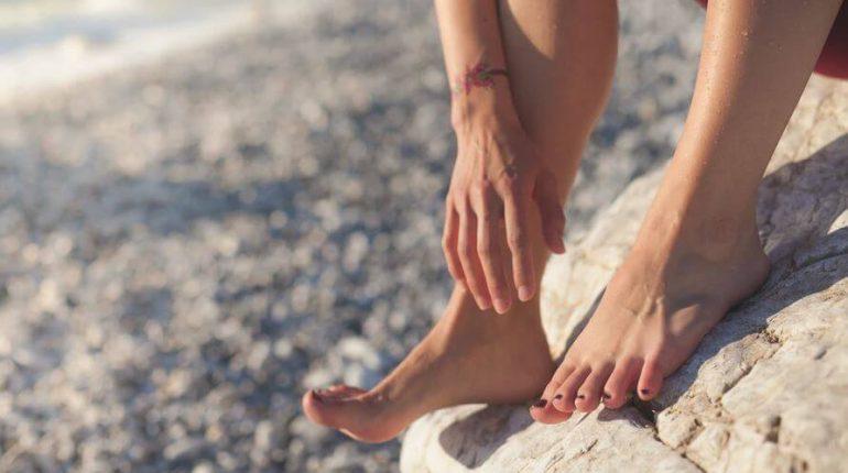 Salvarea picioarelor după o zi grea de muncă